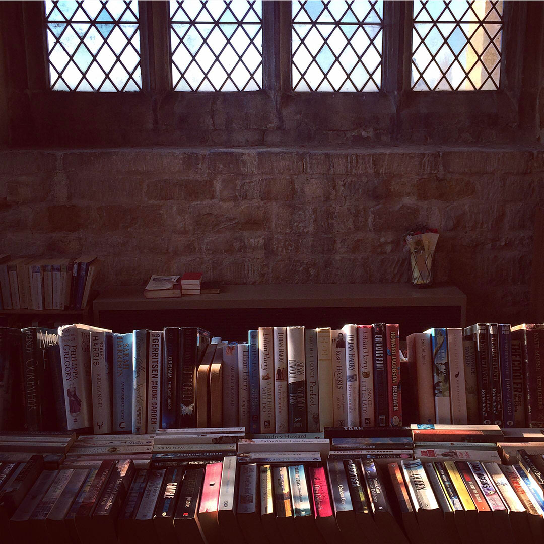 village library St Andrews Church Whissendine Rutland